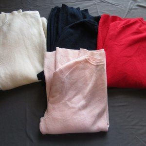 Charter Club Cashmere Sweaters Lot of 4 Sz L